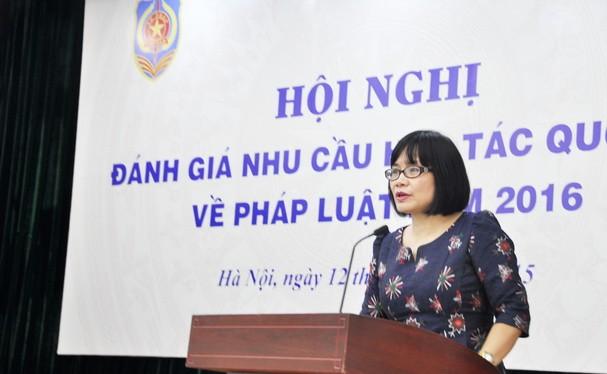 Bà Đặng Hoàng Oanh, tân Thứ trưởng Bộ Tư pháp. Ảnh: dangcongsan.vn
