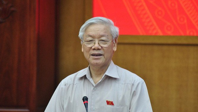Tổng Bí thư Nguyễn Phú Trọng. Ảnh: dangcongsan.vn