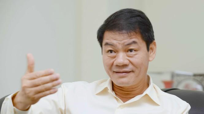 Ông Trần Bá Dương, Chủ tịch HĐQT Công ty Đại Quang Minh. Ảnh: Zing