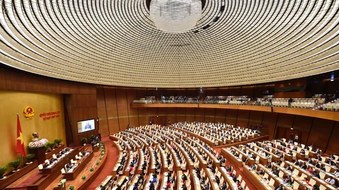 Toàn cảnh phiên khai mạc kỳ họp thứ 5, Quốc hội khóa XIV - Ảnh: VGP
