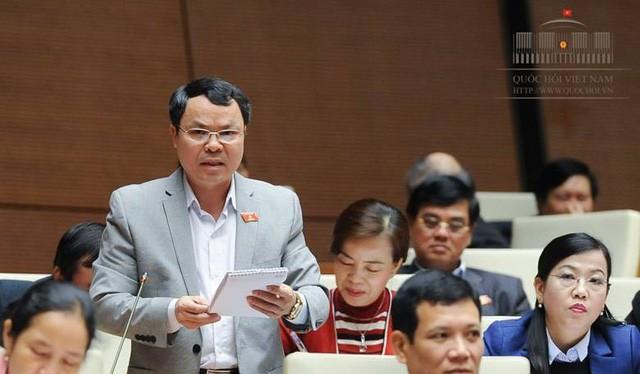 Đại biểu Nguyễn Tiến Sinh. Ảnh: Quốc hội
