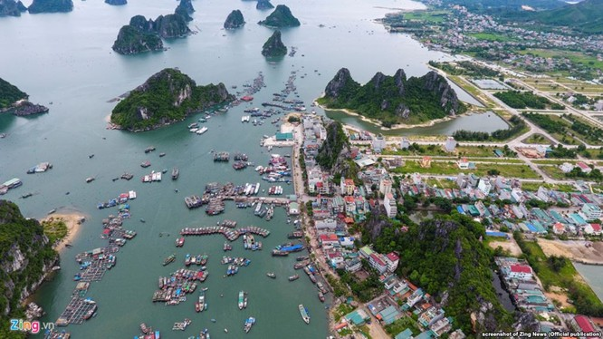 Cảng Cái Rồng, đảo Vân Đồn, tỉnh Quảng Ninh. Ảnh: VOV