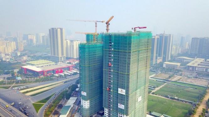 Coteccons vẫn là đơn vị thi công những công trình lớn ở Việt Nam.