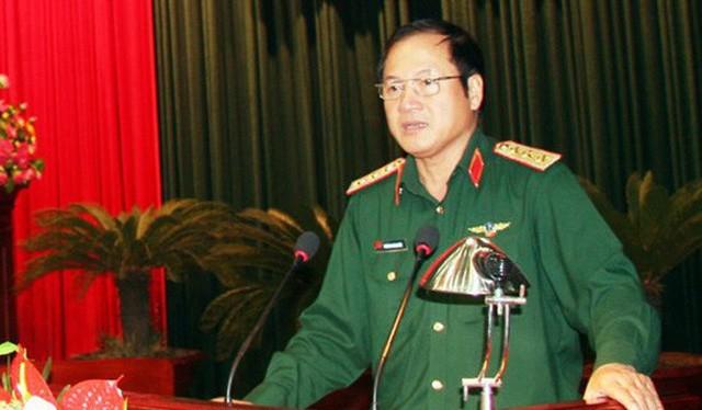 Thượng tướng Phương Minh Hòa.