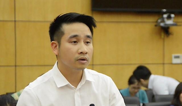 Ông Vũ Hùng Sơn, Phó chánh Văn phòng BCĐ 389 quốc gia. Ảnh: PLO