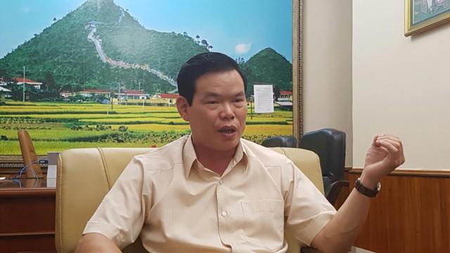 Ông Triệu Tài Vinh - Bí thư Tỉnh ủy Hà Giang (Ảnh: NTNN).