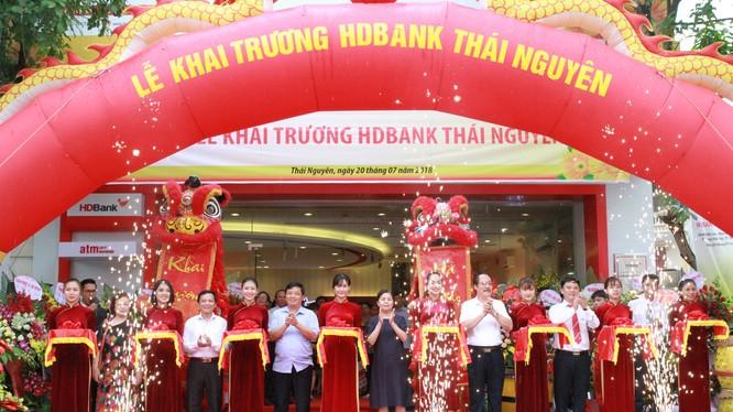 Lễ khai trương Chi nhánh Thái Nguyên của HDBank.