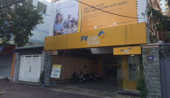 Quầy giao dịch chi nhánh Vũng Tàu của PVcomBank. Ảnh: Tri thức trẻ