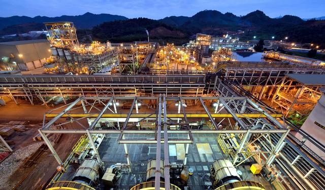 Mỏ Núi Pháo của Công ty TNHH Tinh luyện Vonfram Núi Pháo – H.C.Starck. Nguồn:Công ty