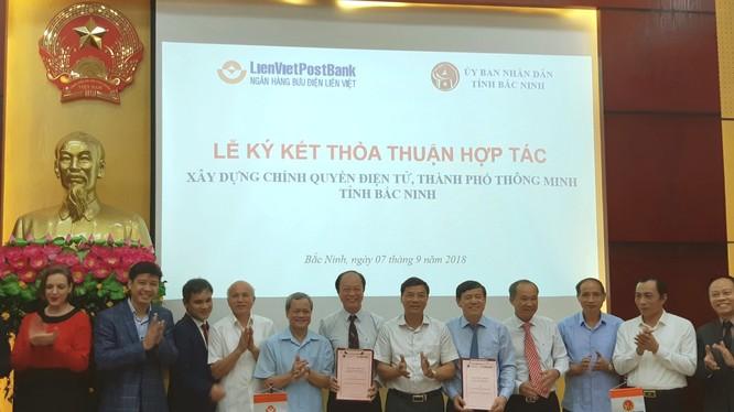 LienVietPostBank thỏa thuận hợp tác với Ủy ban Nhân dân tỉnh Bắc Ninh