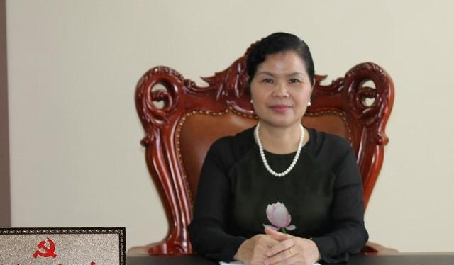 Tân Bí thư tỉnh ủy Lai Châu Giàng Páo Mỷ. Ảnh: TTXVN