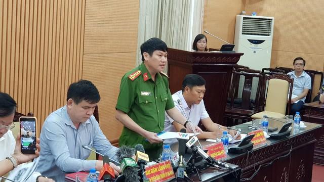 Đại tá Nguyễn Văn Viện - Phó Giám đốc Công an Hà Nội. Ảnh: Dân trí
