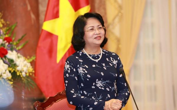Quyền Chủ tịch nước Đặng Thị Ngọc Thịnh