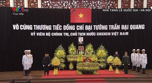 Bắt đầu Lễ Quốc tang Chủ tịch nước Trần Đại Quang. Nguồn: Dân trí
