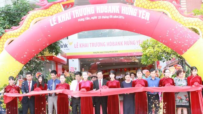 Lễ khai trương HDBank Hưng Yên diễn ra vào sáng ngày 25/9/2018