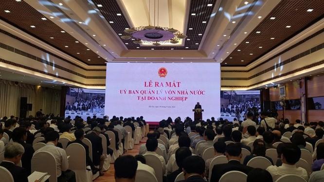 Ra mắt Ủy ban Quản lý vốn nhà nước tại doanh nghiệp.
