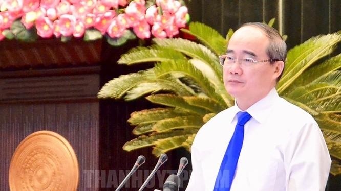 Bí thư Thành ủy TPHCM Nguyễn Thiện Nhân. Ảnh: hcmcpv.org.vn