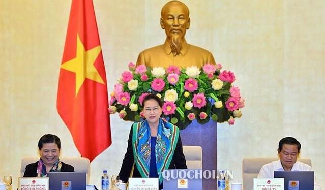 Chủ tịch Quốc hội Nguyễn Thị Kim Ngân.Ảnh: quochoi.vn