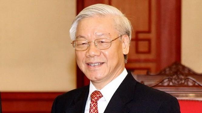 Ban Chấp hành Trung ương đã thống nhất 100% giới thiệu Tổng bí thư Nguyễn Phú Trọng để Quốc hội bầu giữ chức vụ Chủ tịch nước. (Ảnh: dangcongsan.vn)
