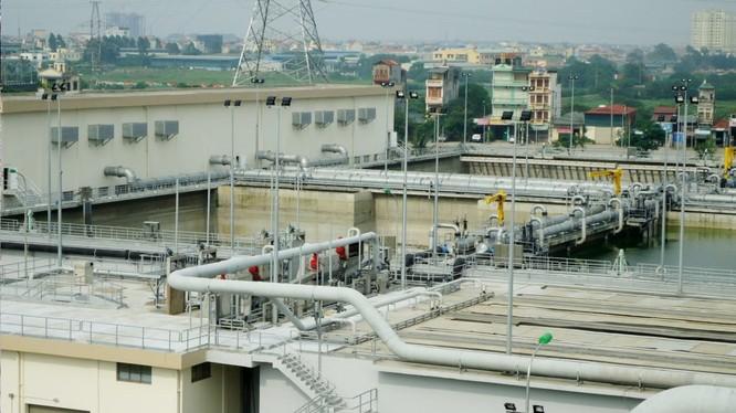 Nhà máy xử lý nước thải Yên Sở, một trong những dự án BT của Hà Nội. Nguồn: .ecobaent.vn