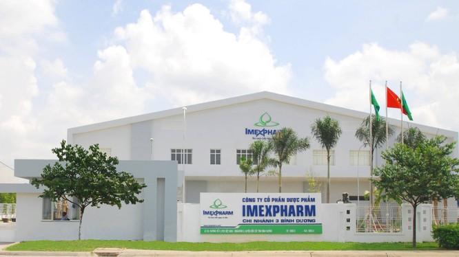 CTCP Dược phẩm Imexpharm (Nguồn: Imexpharm)