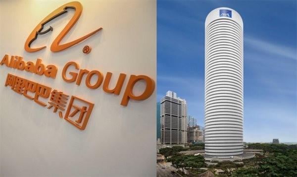Alibaba vừa mua 50% cổ phần của cao ốc AXA Tower cao 50 tầng tọa lạc ở khu trung tâm thương mại của Singapore được định giá 1,2 tỉ đô la. Ảnh: Aliprop