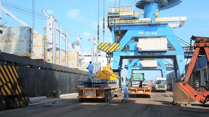 Xuất khẩu phôi thép của Tập đoàn Hòa Phát (Nguồn: HPG)