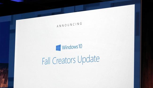 Bản cập nhật Windows 10 Fall Creators sẽ sớm có mặt vào mùa thu năm nay