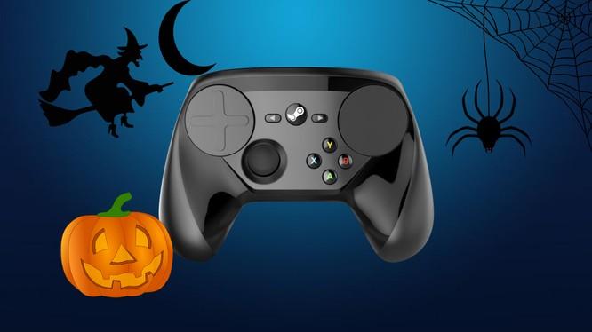 Hình ảnh quảng cáo cho đợt giảm giá Halloween của Steam (Nguồn: eurogamer)