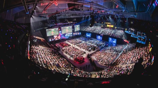 Quy mô của các giải đấu thể thao điện tử ngày càng lớn. Nguồn: IGN