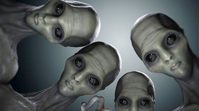 Sự tồn tại của người ngoài hành tinh từ lâu đã là câu hỏi không có lời giải (ảnh: express.co.uk)