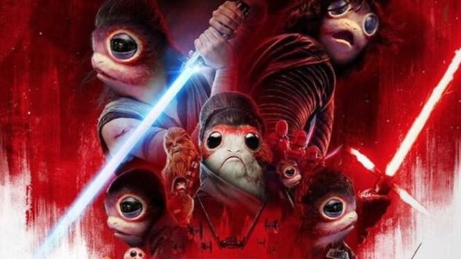 Hình ảnh meme về các chú Porg đang tràn ngập trên mạng xã hội những ngày gần đây. Nguồn: Comic Book