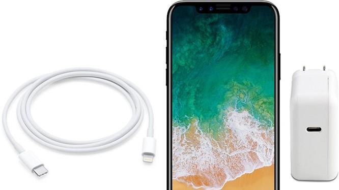 Bạn có thể sạc iPhone nhanh hơn với cáp chuyển USB chuẩn C sang cổng Lightning và sạc 29W của MacBook. (Nguồn: MacRumors)