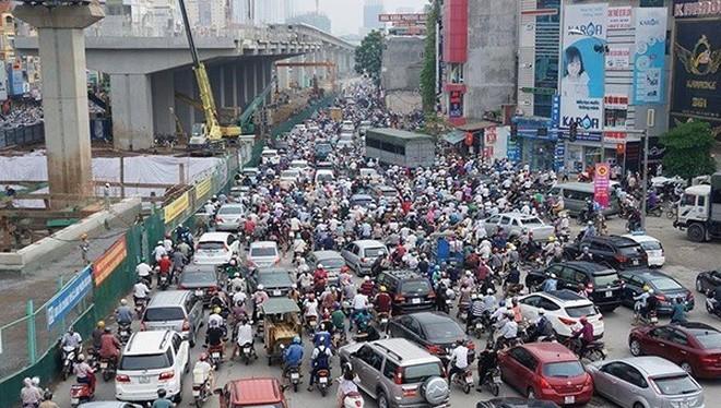 Hiện Hà Nội có hơn 5 triệu xe máy (Ảnh minh họa)
