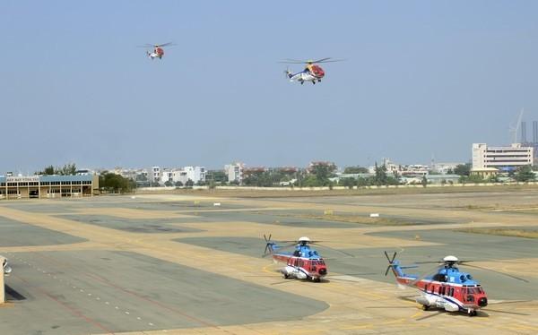 Sân bay Vũng Tàu đang nằm trong Thành phố nơi tập trung dân cư