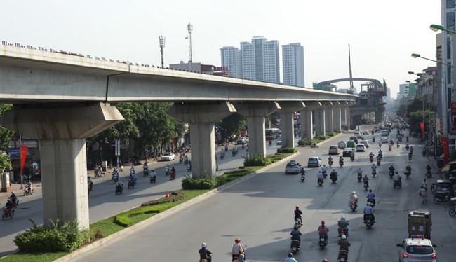 Dự án đường sắt Cát Linh - Hà Đông đang được khẩn trương triển khai.
