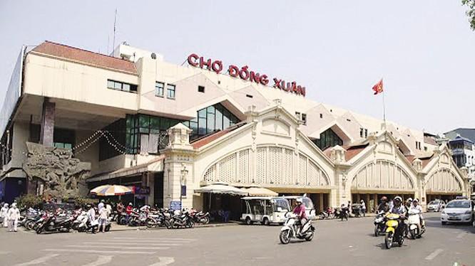 Đề xuất xây mới chợ Đồng Xuân