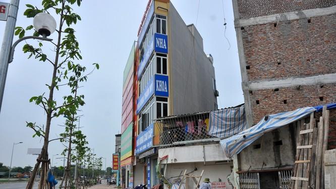 Nhà siêu mỏng đường vành đai 2, Hà Nội