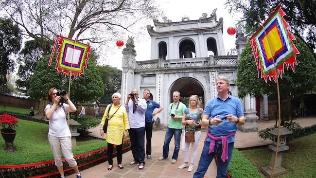 9 tháng đầu năm lượng du khách quốc tế đến Việt Nam tăng khá cao