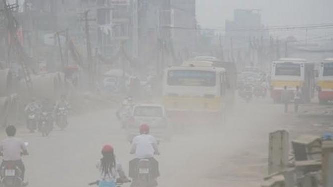 Ô nhiễm không khí ở Hà Nội đáng báo động.