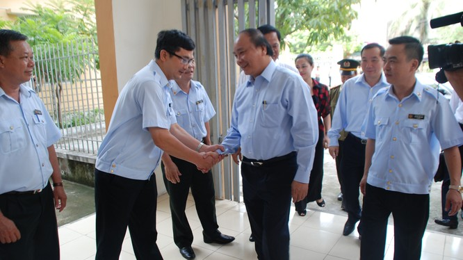 Thủ tướng Chính phủ làm việc tại Trụ sở Ban tiếp công dân Trung ương.