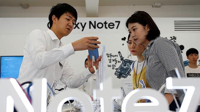 Nhiều nhà mạng tại Mỹ đã mất niềm tin vào Galaxy Note 7 của Samsung