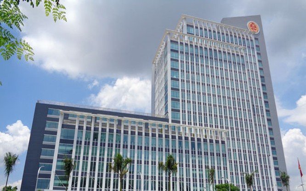 Trụ sở Cục Thuế TP.HCM