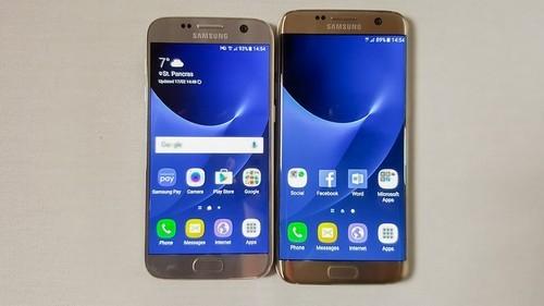 """Galaxy S7 và Galaxy S7 edge gánh """"trọng trách"""" sau khi Galaxy Note 7 gặp sự cố."""