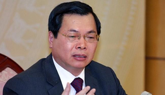 Cựu Bộ trưởng Bộ Công thương Vũ Huy Hoàng.