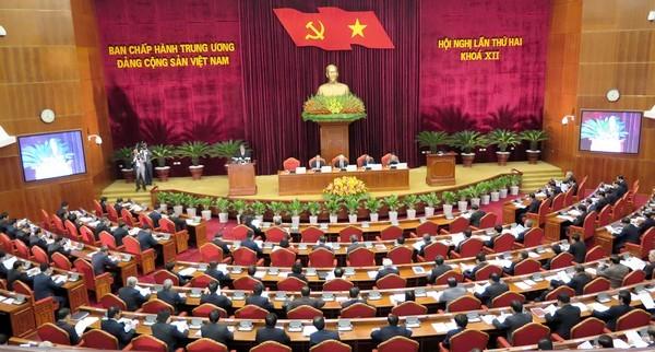 Hội nghị BCH Trung ương Đảng khóa XII