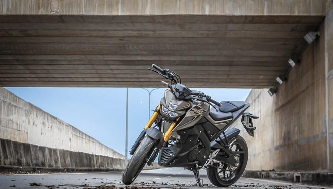 Yamaha TFX 150 naked bike