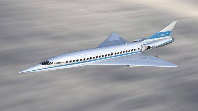 Phác họa máy bay siêu thanh Baby Boom.