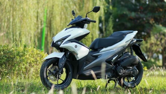 Yamaha NVX ra mắt Đông Nam Á lần đầu tại Sepang, Malaysia hôm 29/10. Hãng xe Nhật dự kiến trình làng và công bố giá bán tại Việt Nam trong tháng 12.