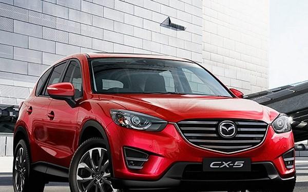 Mẫu Mazda CX-5. (Nguồn: Mazda Australia)